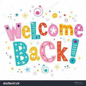 Welcome Back Clipart Free collection Download and share