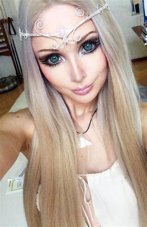 amazing world    human barbie    makeup   shocking photo
