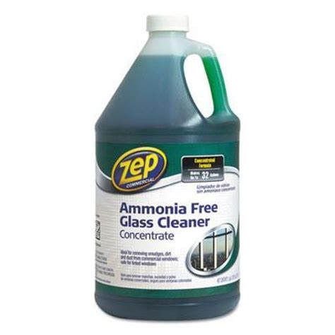 Zep Floor Cleaner Sds by Zep Ammonia Free Glass Cleaner Concentrate