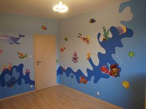 Dětský pokoj inspirace malba