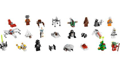 lego star wars advent calendar lego building instructions
