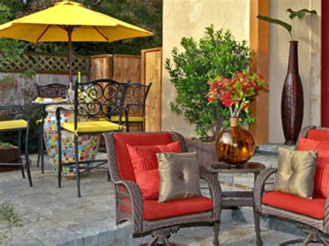 Images Of Outdoor Patios by How To Clean Patio Furniture Cushions And Canvas How Tos