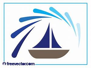 Boat Logo Graphics Vector Art & Graphics | freevector.com