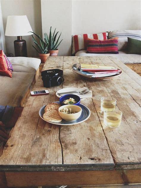 Tisch Aus Alten Bohlen by Let S Be Candid