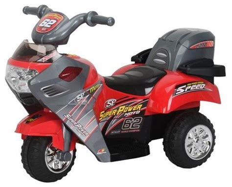 New Kids 6v Electric Ride On Power Motorcycle Toy Bike