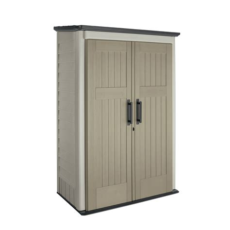 rubbermaid large vertical shed lawn garden sheds