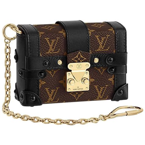 louis vuitton runway miniature essential trunk bag  stdibs