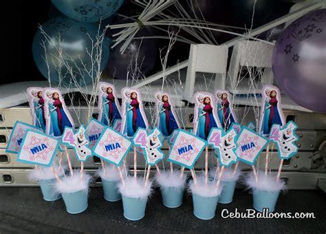 disney frozen table centerpiece frozen disney cebu balloons and party supplies