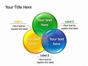 Powerpoint Slide - Circle Diagram 3d - Multicolor