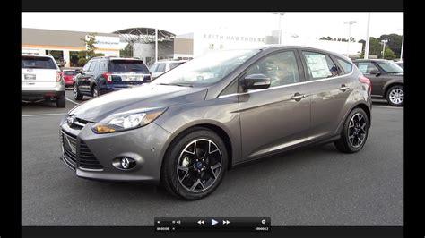 ford focus titanium hatchback start  exhaust