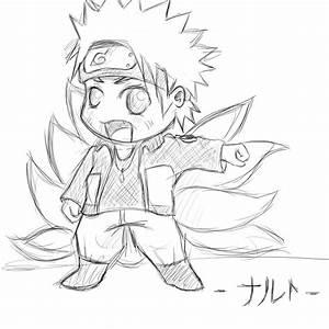 Naruto-The ninetailed fox- Chibi by LizzyxAkatsuki on ...