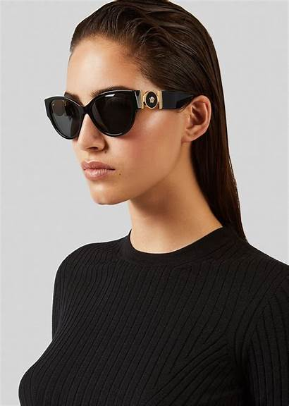 Sunglasses Versace Cat Eye Medusa Medallion Eyewear