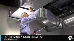 Performing A Duct Traverse Youtube