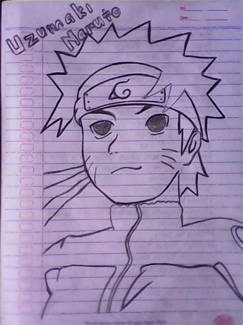 Lukisan naruto yang mudah ditiru cikimm com. 23+ Gambar Anime Pensil Mudah Ditiru - Sugriwa Gambar