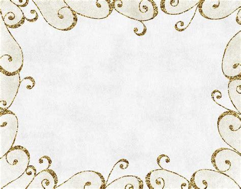 fancy gold page border designs bricolaj  artizanat