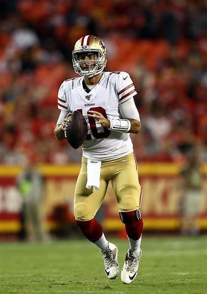 Garoppolo Jimmy 49ers San Francisco Quarterback Preseason