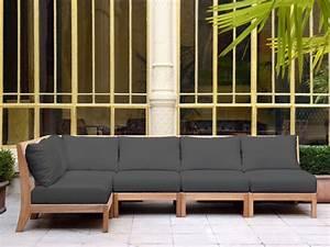 Canape Bois Exterieur : mobilier de jardin design tectona canap jardin bois id ~ Teatrodelosmanantiales.com Idées de Décoration