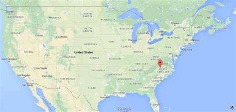 greensboro  usa map