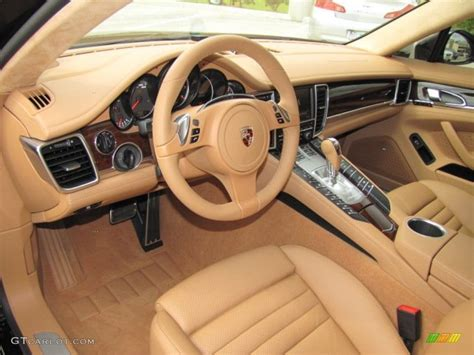porsche panamera interior 2012 luxor beige interior 2012 porsche panamera turbo photo