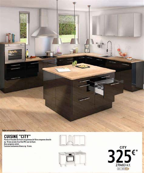 unique meuble de cuisine noir laqu 233 design de maison