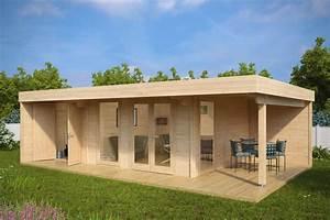Gartenhaus Mit Lounge : luxus gartenhaus hansa lounge xxl gartenhaus 2 r ume 22m 44mm 5x8 hansagarten24 ~ Indierocktalk.com Haus und Dekorationen