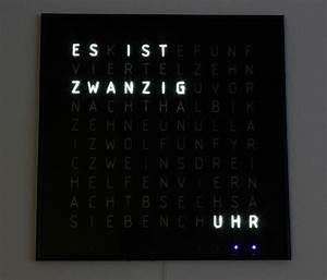 Wanduhr In Worten : w rter funkuhr second edition ~ Michelbontemps.com Haus und Dekorationen
