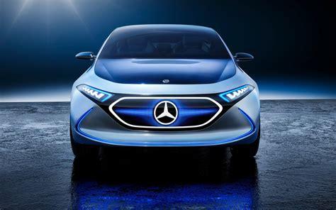 wallpaper mercedes benz concept eq  electric cars