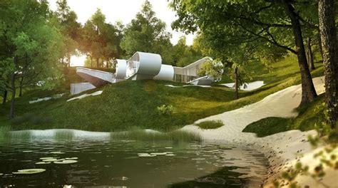 contemporary architecture  interiors  xoio