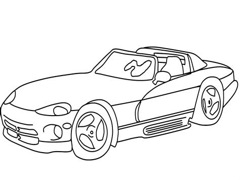 Coloring Car by Car Coloring Pages Coloringpages1001