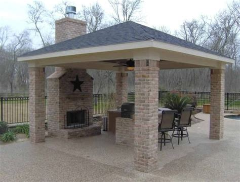 outdoor fireplace covered patio we ll design the