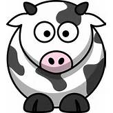 Free Cartoon Cow Clip Art | Free Images at Clker.com - vector clip art ...