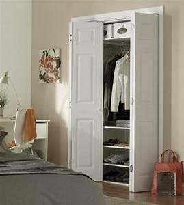 Porte De Placard Pliante : les portes de placard pliantes pour un rangement joli et ~ Dailycaller-alerts.com Idées de Décoration