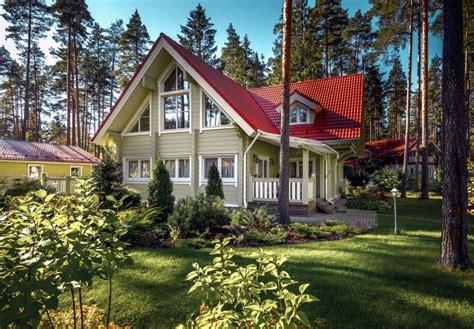 photo mod 232 le maison su 233 doise maison familiale finlandaise en bois maisons en bois finlandaise