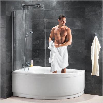 wanne mit dusche schulte schulte komfort iii badewannenkombination wanne mit dusche badewannenfaltw 228 nde