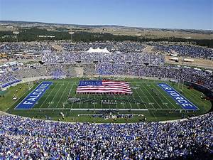 Air Force Game Day At Falcon Stadium Photograph by Air ...