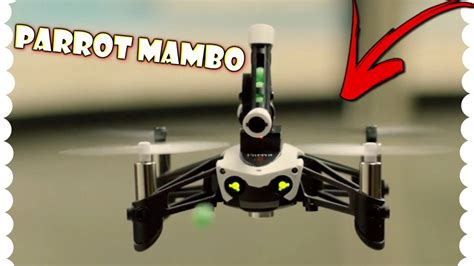 parrot mambo fpv  honest review  youtube