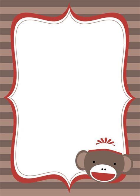 shock monkey baby shower invitation dolanpedia