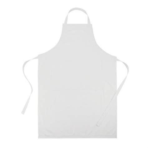 tablier de cuisine blanc tablier de cuisine publicitaire ajustable blanc
