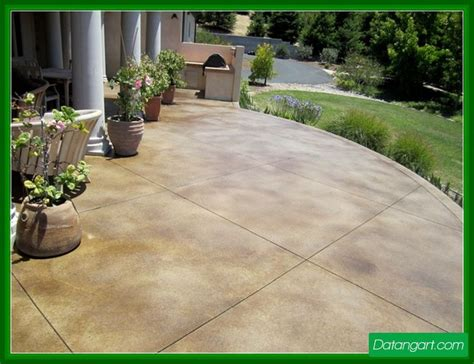 stained concrete patio colors design idea home
