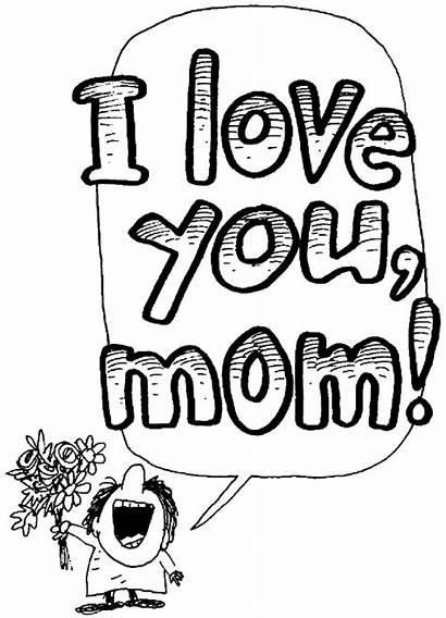 Clipart Mothers Coloring Mom Mother Clip Ibu