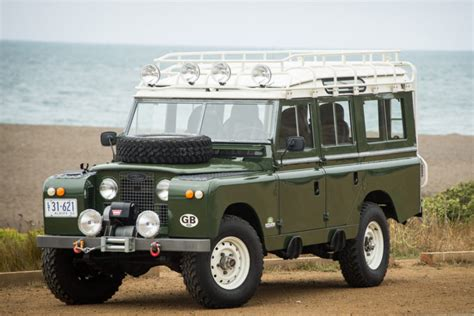 lot 2000 bat s vortec v8 1962 land rover 109 series iia for sale on bat auctions sold for