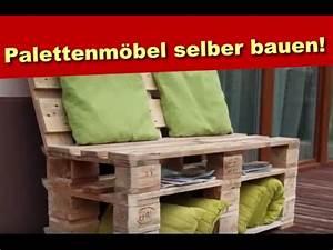 Bauen Mit Europaletten : palettenm bel aus holz sitzbank aus paletten selber ~ Michelbontemps.com Haus und Dekorationen