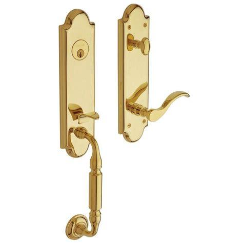 baldwin estate collection manchester single cylinder lifetime polished brass left handed