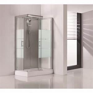 porte coulissante en verre chez leroy merlin 14 paroi With carrelage adhesif salle de bain avec guirlande led lumineuse