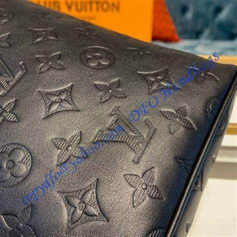 louis vuitton monogram shadow black chalk sling bag