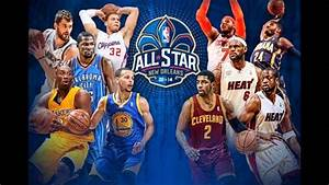 NBA 2014 All Star Game Starters! (East & West!) - YouTube