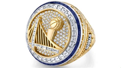 warriors championship ring leads   major