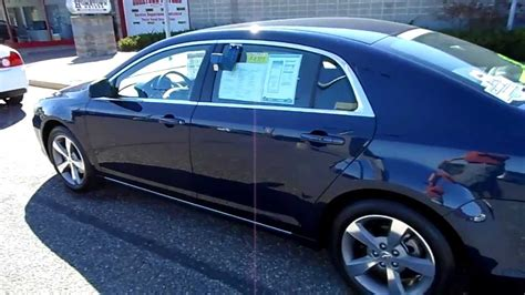 2011 Chevrolet Malibu LT Dark Blue Hometown Motors of ...