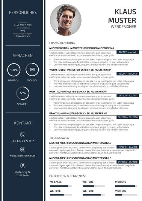 Lebenslauf Template by Premium Bewerbungsmuster 3 Lebenslauf Designs Para