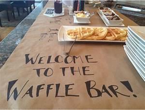 Waffle Bar Sugar Plum Sisters